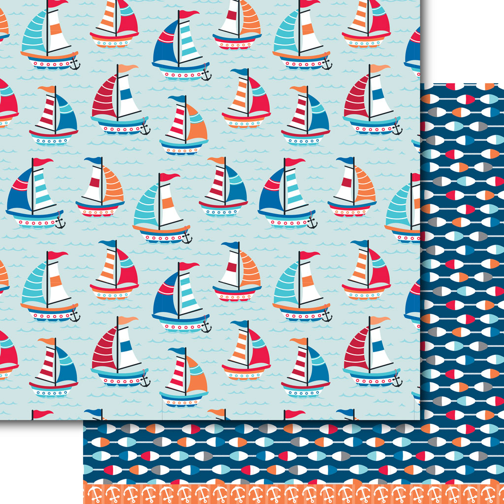 Sail away paper pack