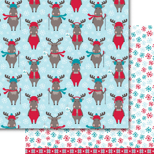 Chocolate Moose Paper Pack (15 Sheets)