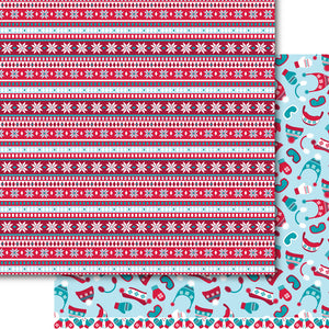 Wooly Winter Paper Pack (15 Sheets)