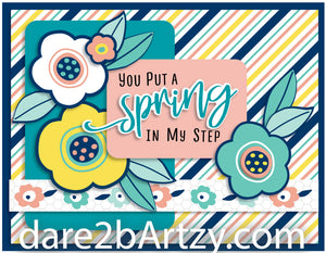 Spring is Blooming Stamp Set