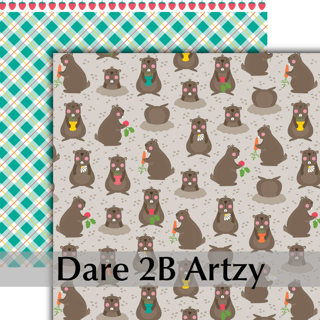 Groundhog Garden Paper Pack (15 Sheets)