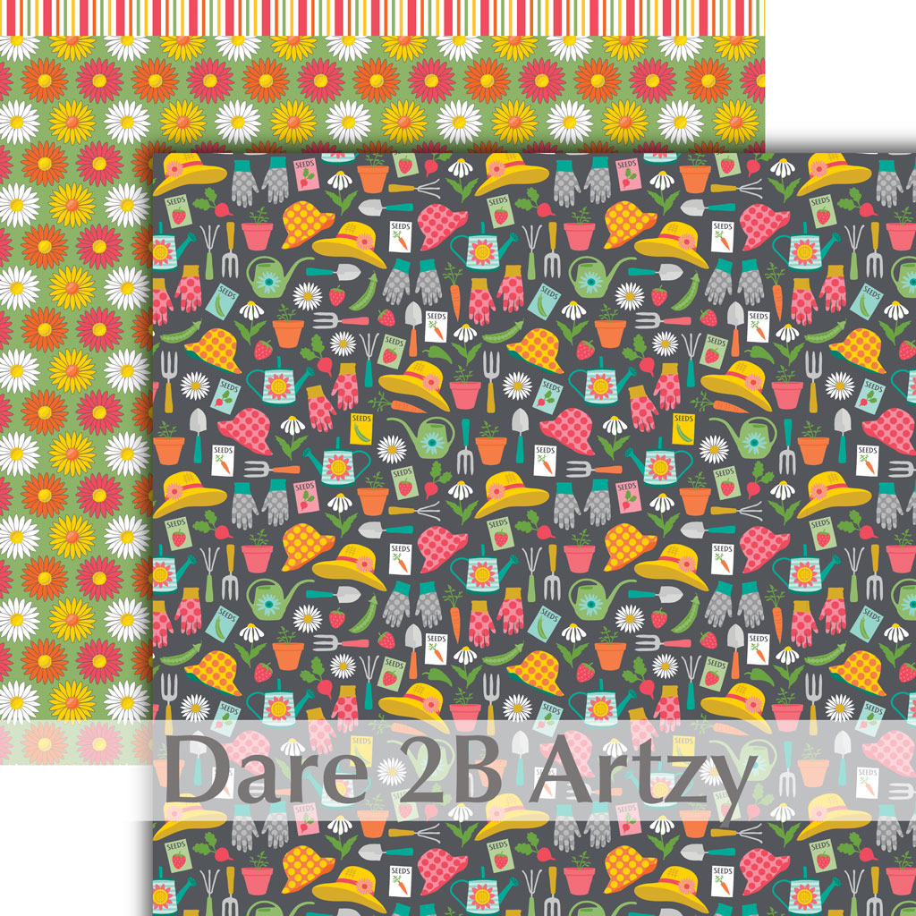 Garden Party Paper Pack (15 Sheets)