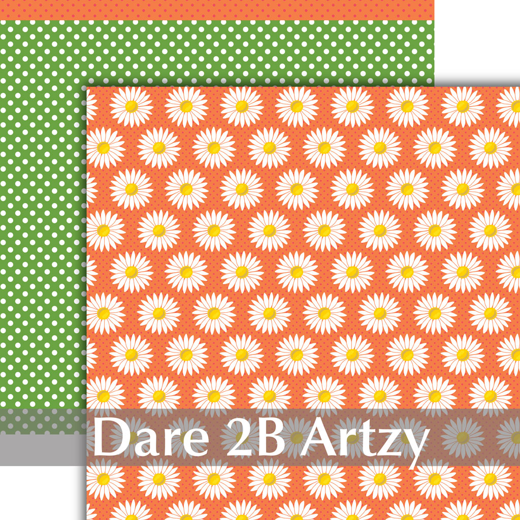 Artzy Daizy Paper Pack (15 Sheets)