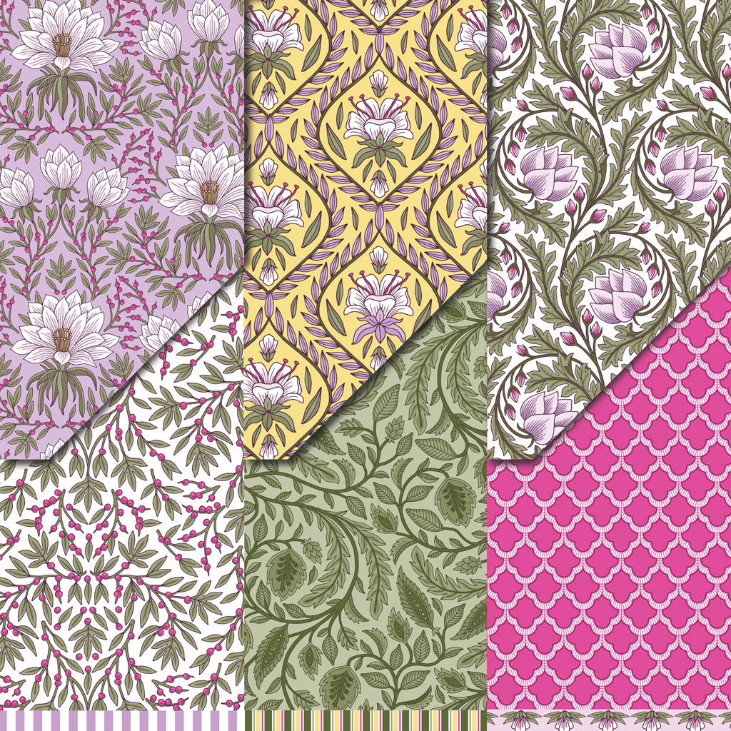 Botanical Breeze Collection Variety Pack (12 sheets)