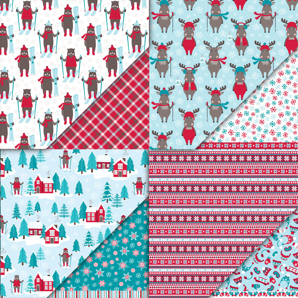 Snow Much Fun Collection Variety Pack Paper