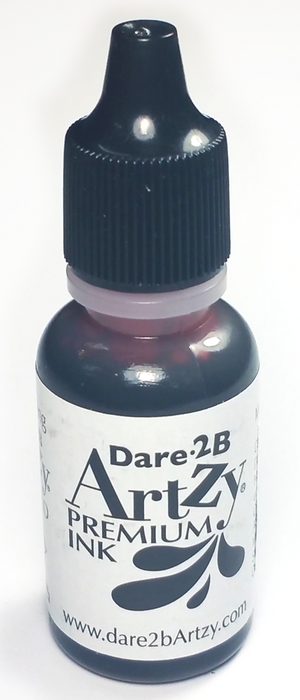 Totally Black Re-INKER for D2BA Totally Black Ink Pad