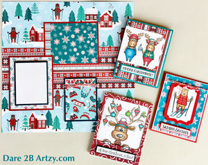 Snow Much Fun Collection Variety Pack (16 sheets)