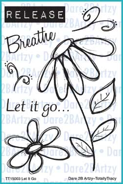 Let it Go (Totally Tracy) Stamp Set