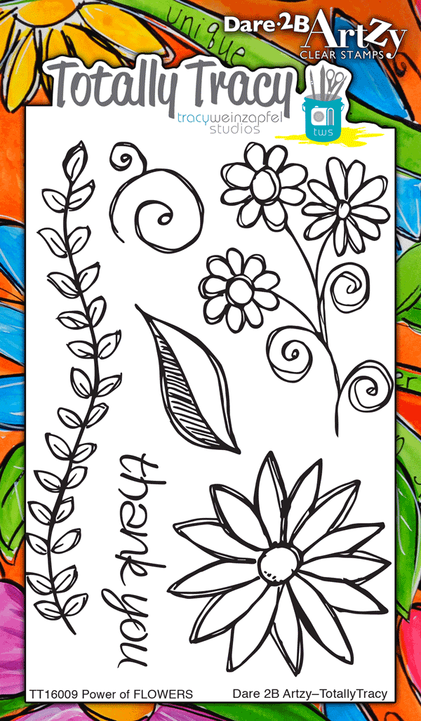 Power of Flowers (Totally Tracy) Stamp Set
