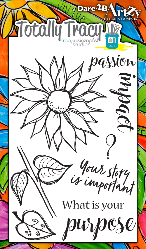 Find Your Purpose (Totally Tracy) Stamp Set