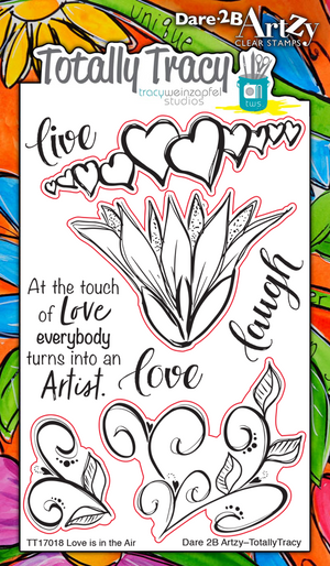 Love is in the Air (Totally Tracy) Stamp Set