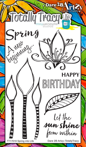 Spring into Life (Totally Tracy) Stamp Set