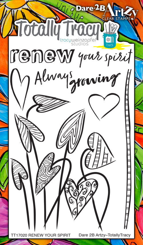 Renew Your Spirit (Totally Tracy) Stamp Set