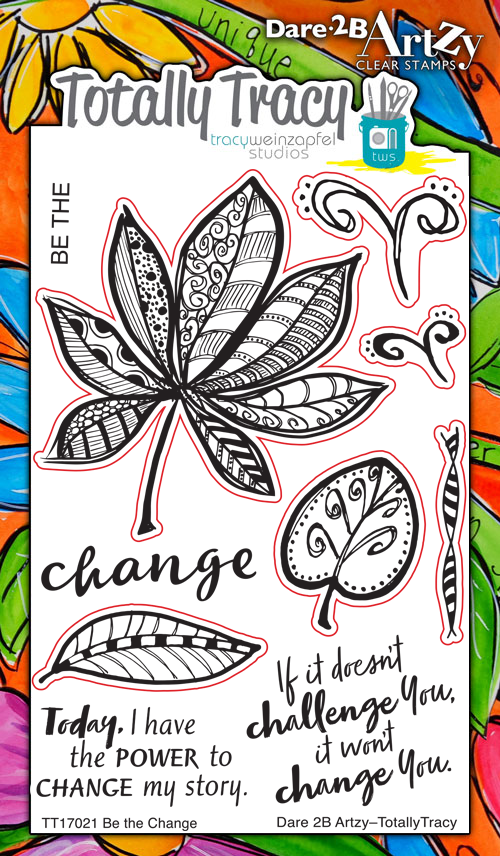 Be the Change (Totally Tracy) Stamp Set