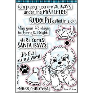 Puppy Kisses Stamp Set (Shipping Approximately March 15th)