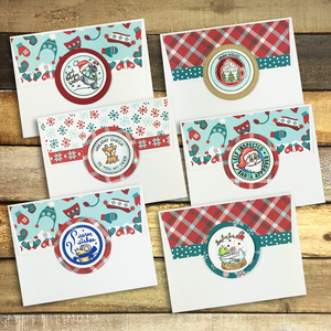 2019 Holiday Seals