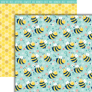 Bee Happy Paper Pack (15 Sheets)