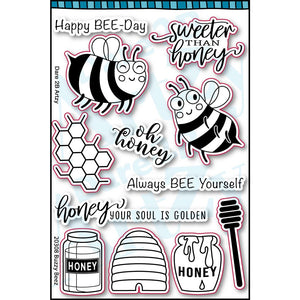 Buzzy Beez Stamp Set (Shipping Approximately March 15th)