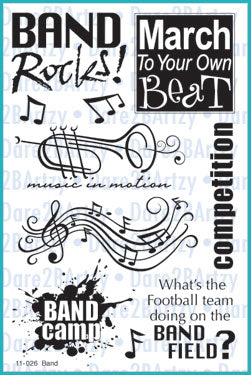 Band Stamp Set