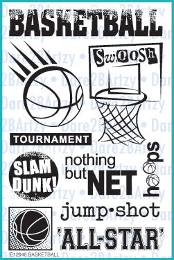 Basketball Stamp Set