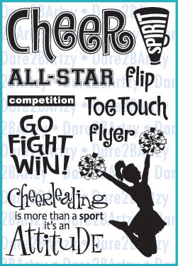 Cheerleading Stamp Set