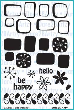 Retro Pattern (Backgrounds) Stamp Set