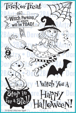 Witches Spell Stamp Set