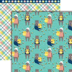 Honey Bear Paper Pack (15 Sheets)