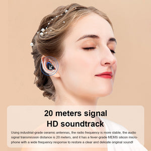 Wireless 2500 mAH LED Display Touch Bluetooth Earphone