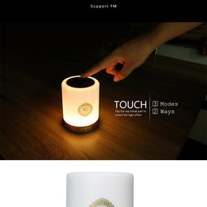 Wireless Portable Bluetooth/USB/FM Quran Light/Speaker