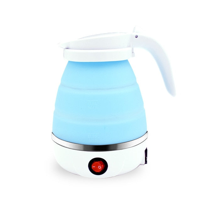 0.75L Electric Foldable Portable Silicone Kettle