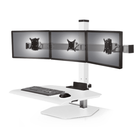 Winston Workstation® Triple Freestanding Sit-Stand