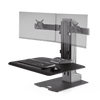 Winston-E® Sit-Stand Workstation Dual Monitor Mount