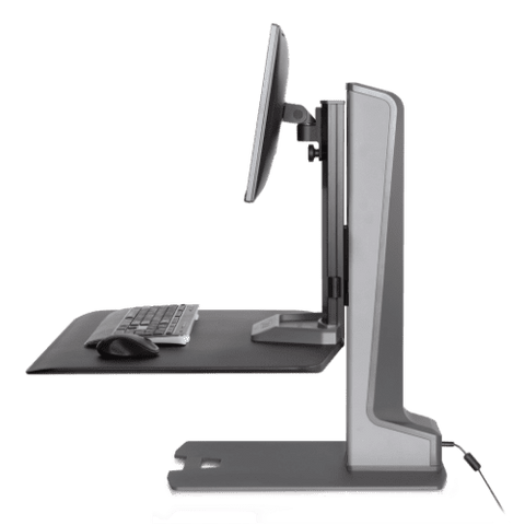 Winston-E® Sit-Stand Workstation Single Monitor Mount