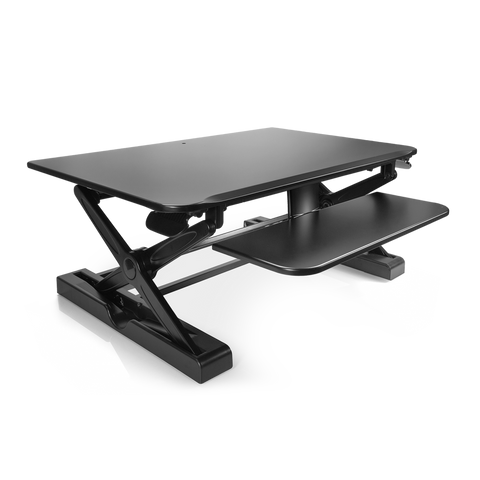 "Image of INNOVATIVE Winston Desk 2 - 36 "" Black Top"