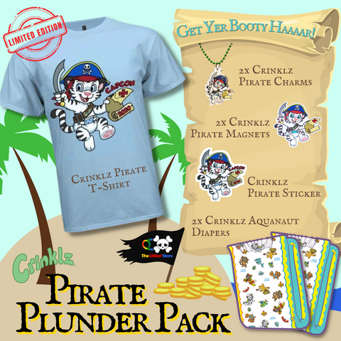 Crinklz Crew Pirate Plunder Pack