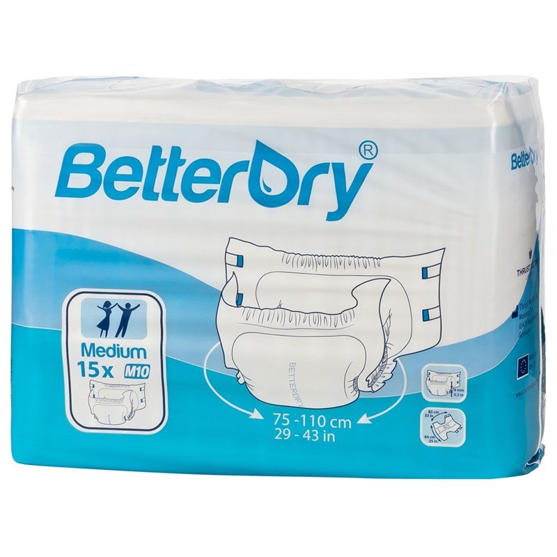 BetterDry Adult Diapers