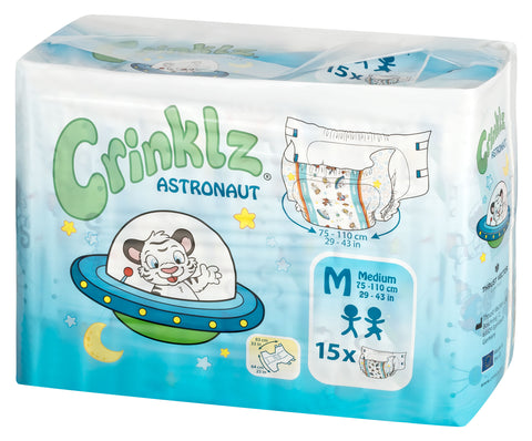 Crinklz Astronaut Adult Diapers