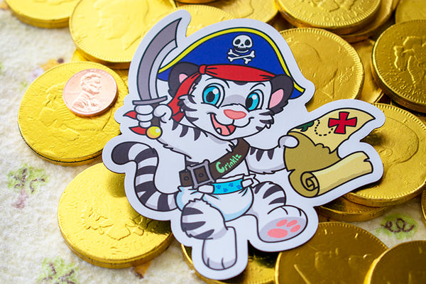 Crinklz Pirate Magnet (Limited Edition)