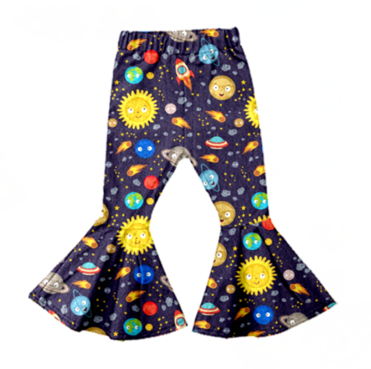 Friendly Planets Bell Bottoms