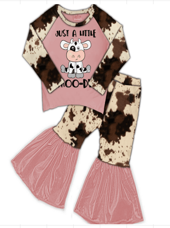 Just a Little Moo-Dy Bell Bottoms Outfit [PREORDER]