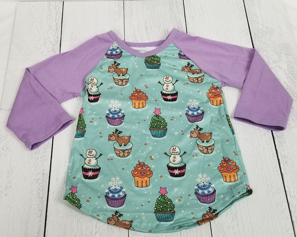 Holiday Cupcake Friends Supersoft Tee