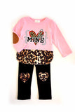 Be mine leopard pink top with heart pants set CXCKTZ-504020 sale