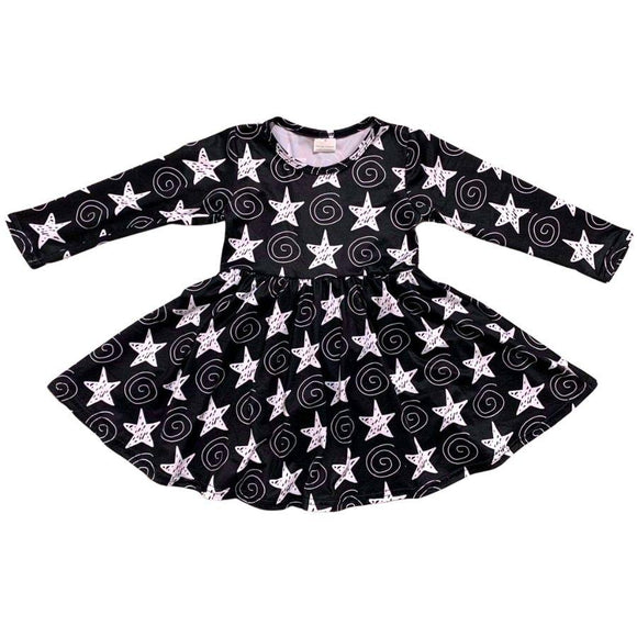 ComfyCute Twirl Dress - Stars 'n Squiggles