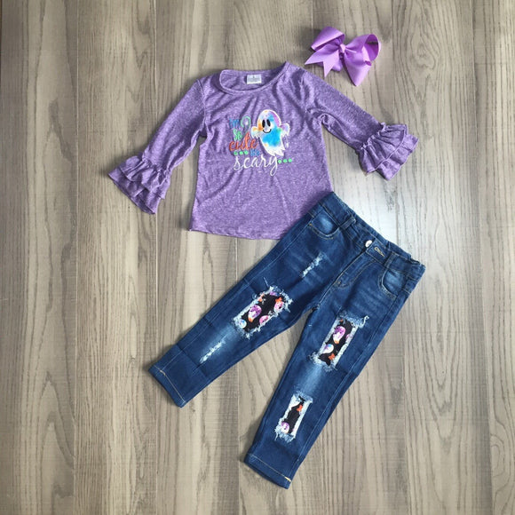 MONDAY SPECIAL #39 - so cute it's scary denim outfit