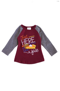 Maroon here for the pie raglan shirt 503683