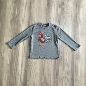Patchwork Feathered Friend Tee [NEW!]