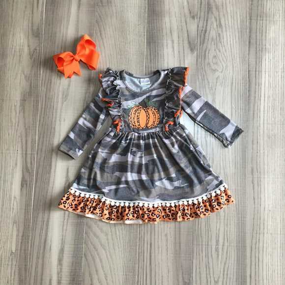 Camo & Leopard Pumpkin Dress [NEW!]
