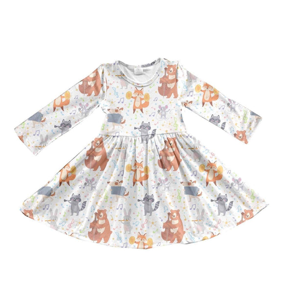 ComfyCute Twirl Dress - Animal Orchestra [PREORDER]