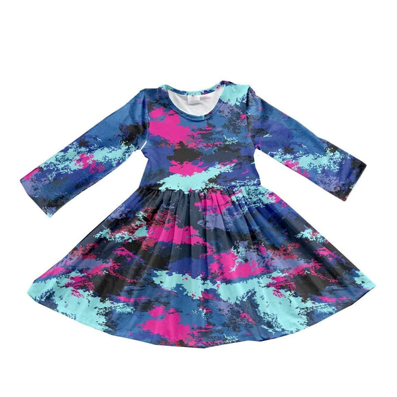 ComfyCute Twirl Dress - 90s Fountain Throwback